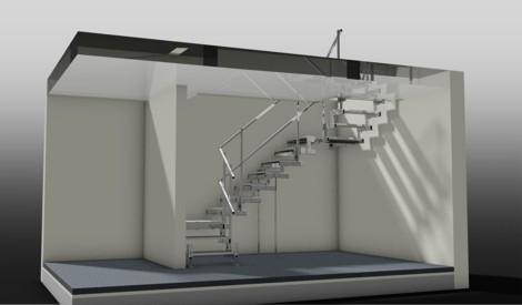 Podest Treppe